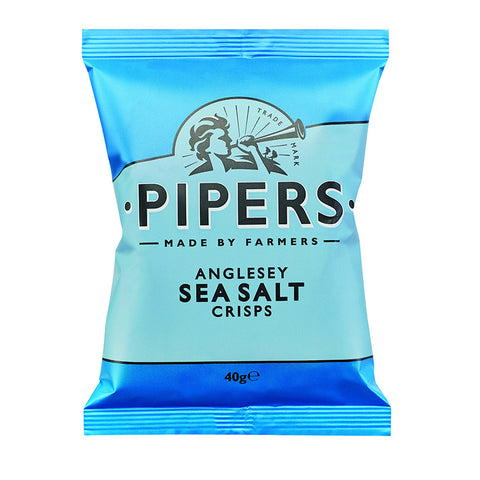 Pipers Crisps Anglesey Sea Salt