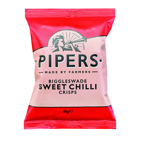 Pipers Crisps Biggleswade Sweet Chilli