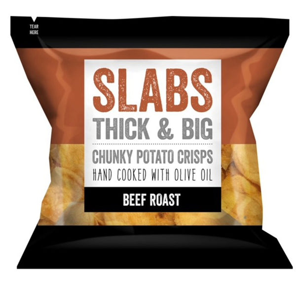 Slabs Crisps - Roast Beef - Snack Revolution
