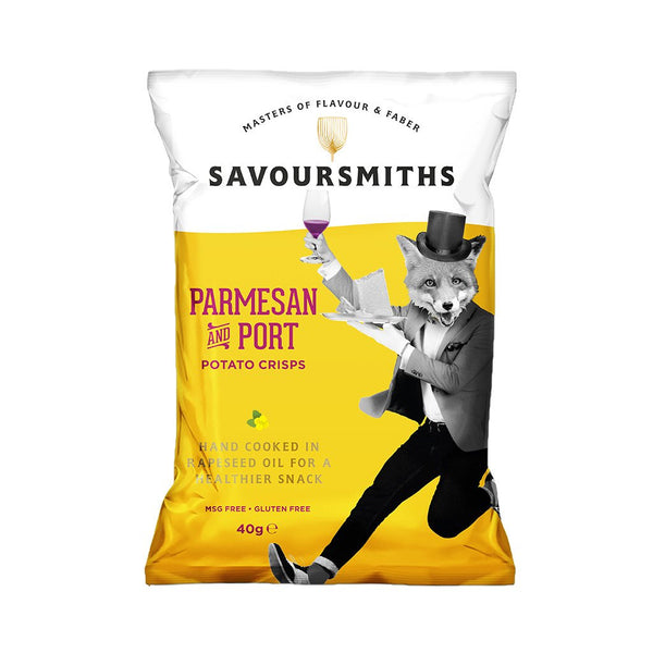 Savoursmiths Parmesan & Port - Snack Revolution