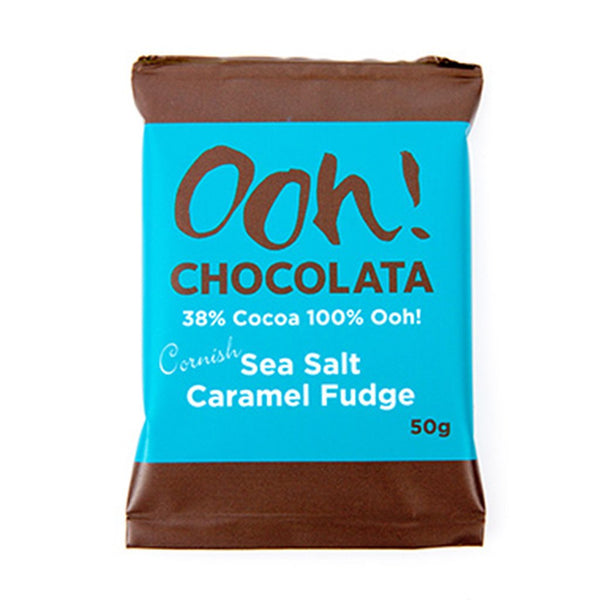 Ooh Chocolate - Cornish Sea Salt Caramel Chocolate - NEW - Snack Revolution