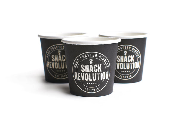 Snack Revolution - Hand Crafted Nibbles Recycable Serving Pots - Snack Revolution