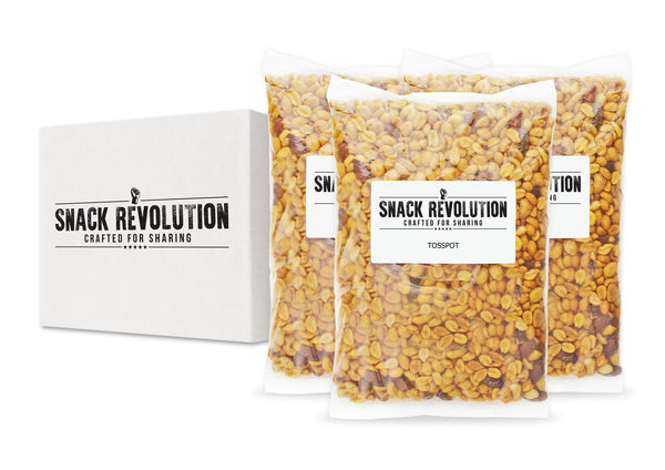 BULK NUTS - TOSSPOT - Smoked Chilli & Honey House Mix (Almonds, Cashews & Peanuts) - Snack Revolution