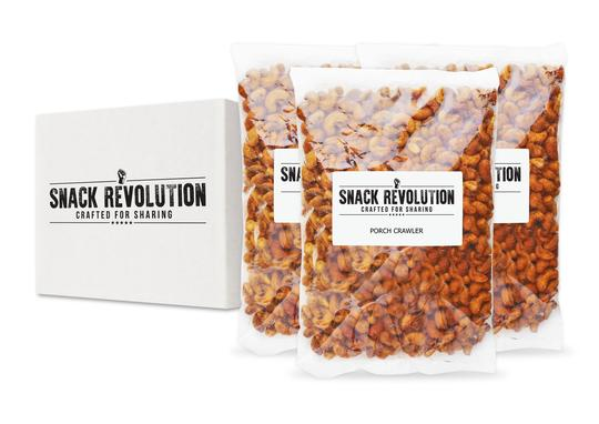 BULK NUTS - PORCH CRAWLER - Spanish Arch Mexican & Spicy Cashew - BEST SELLER!! - Snack Revolution