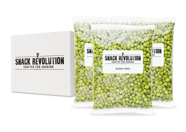 BULK NUTS - BLOKES YOKES - Wembley Wicked Wasabi - Snack Revolution