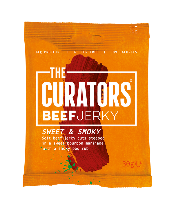 The Curators - Sweet & Smoky Beef Jerky - Snack Revolution