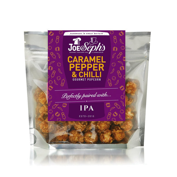 Caramel, Pepper & Chilli (v,gf), to pair with a hoppy IPA - Snack Revolution