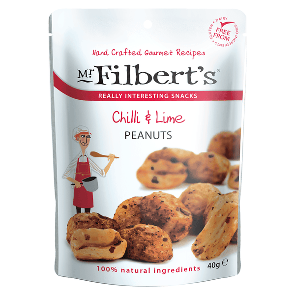 Mr Filberts - Chilli & Lime Peanuts - Snack Revolution