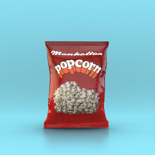 Manhattan - Salted Popcorn 15g - Snack Revolution