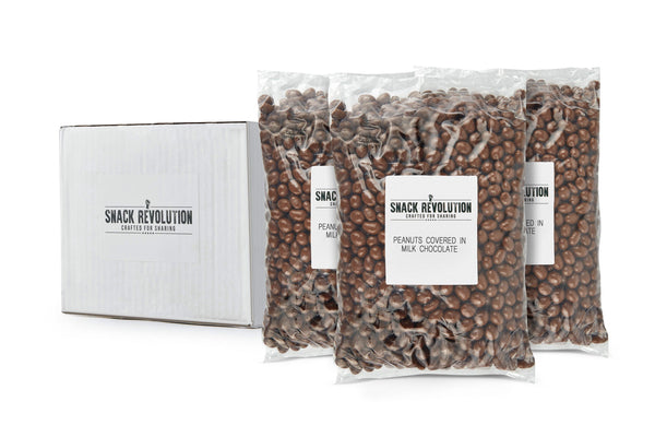 Sweet Collection - Chocolate Peanuts - 3kg - Snack Revolution