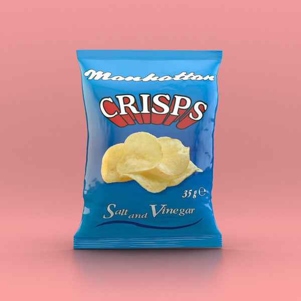 Manhattan - Salt 'n Vinegar Crisps 35g - Snack Revolution