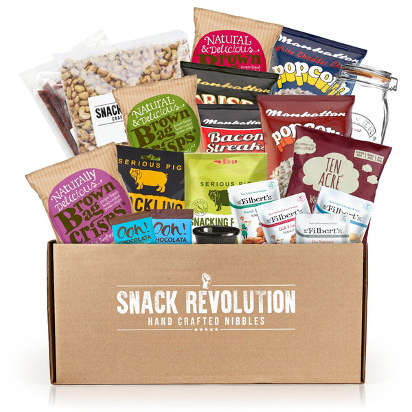 Movie Night Party Snacks - Gourmet Snacks & Home Bar Display's - Snack Revolution