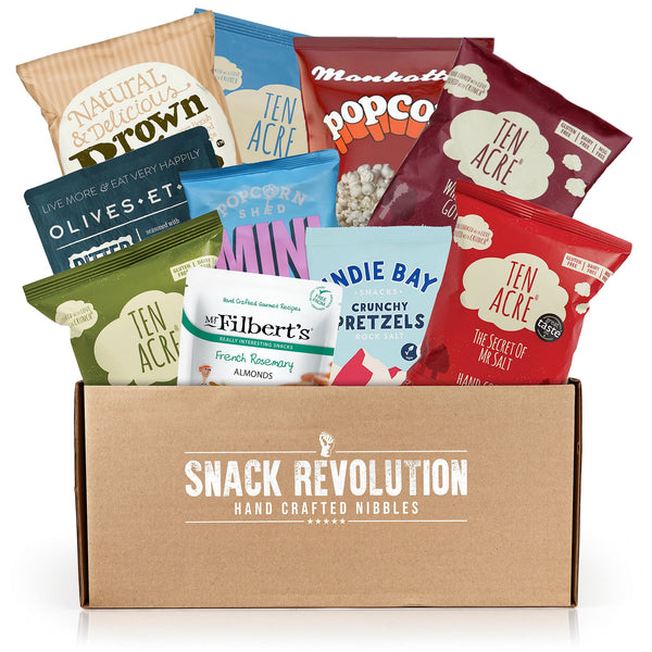 Viva Vegan - Gentle Gourmet Vegan Snack Box - New - Snack Revolution
