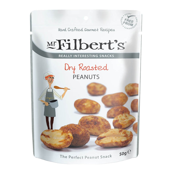 Mr Filberts - Dry Roasted Peanuts - Snack Revolution