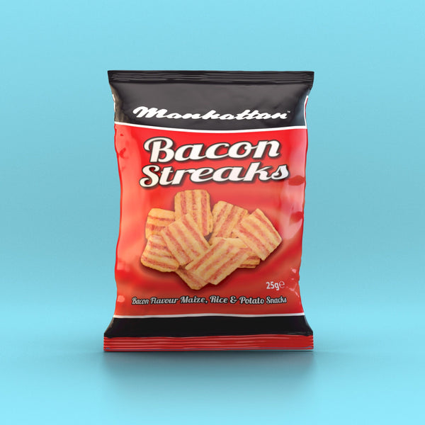 Manhattan - Bacon Streaks 25g - Back in stock in Aug! - Snack Revolution