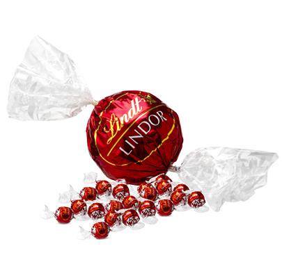 Sweet Collection - Lindt Milk Chocolate Balls - 550g (44 pieces) - Snack Revolution
