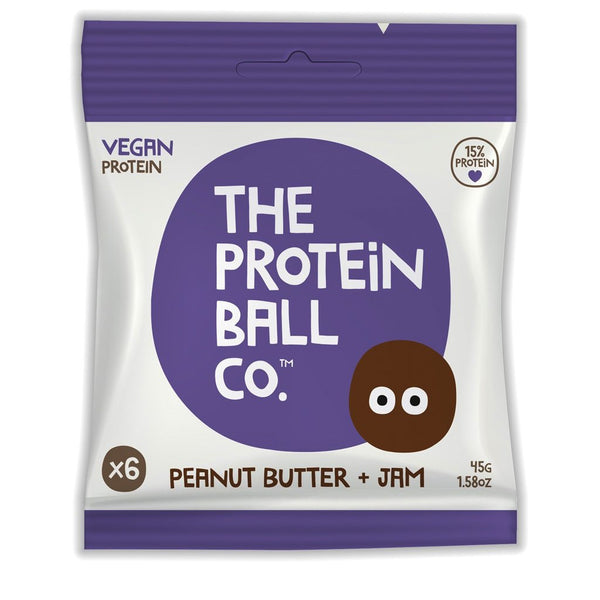 The Protein Ball Co - Peanut Butter & Jam - Snack Revolution