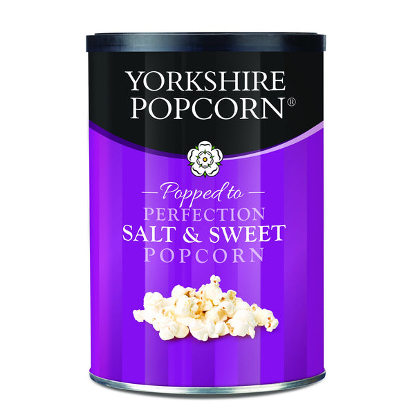 Yorkshire Popcorn - Salt & Sweet Popcorn 40g drums - Snack Revolution
