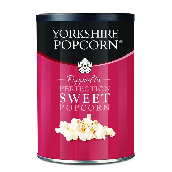 Yorkshire Popcorn - Sweet Popcorn 40g drums - Snack Revolution