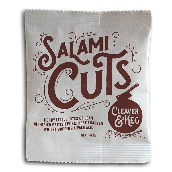 Clever & Keg - Salami Cuts - Snack Revolution