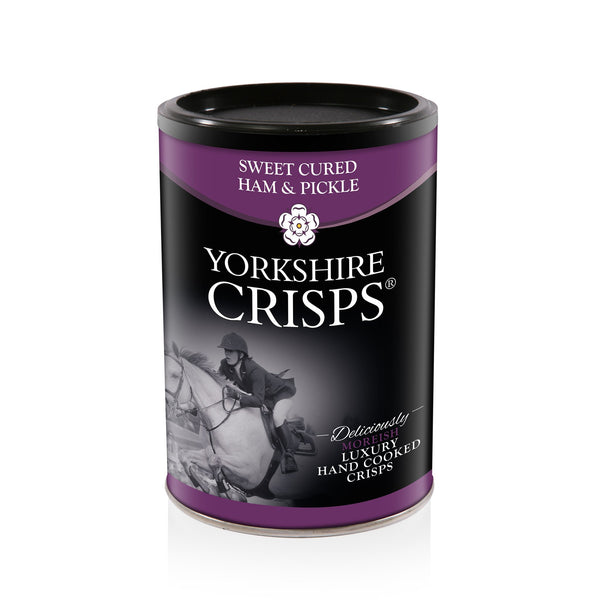 Yorkshire Crisps - Ham & Pickle 100g drum - Snack Revolution