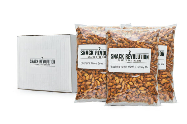 BULK NUTS - OLD FASHIONED - Stephen's Green Sweet & Smoked Peanuts - LAST CHANCE TO BUY!! - Snack Revolution