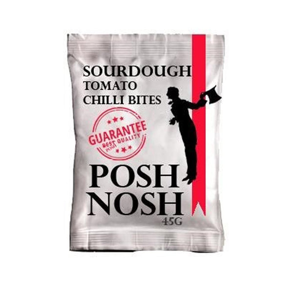Posh Nosh - Sourdough Pretzels Tomato & Chilli bites (Exclusive to us) - Snack Revolution