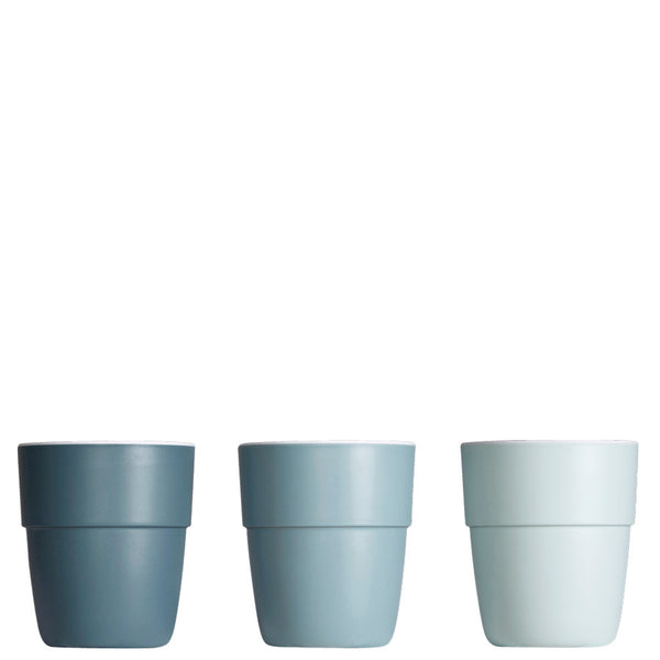 Mini-Becher-Set, blau von Done By Deer