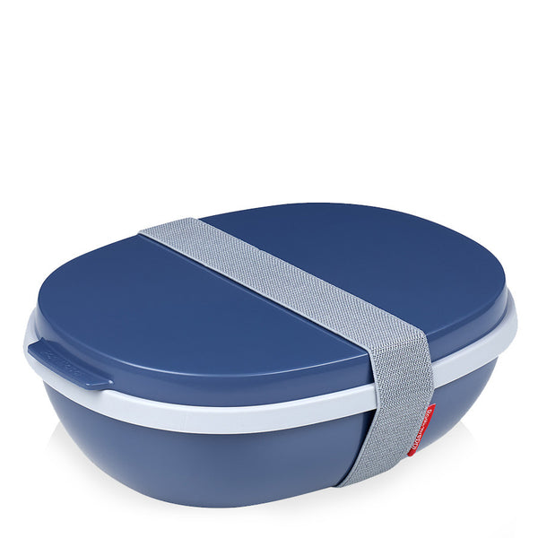 Lunchbox ELLIPSE DUO denim Rosti Mepal