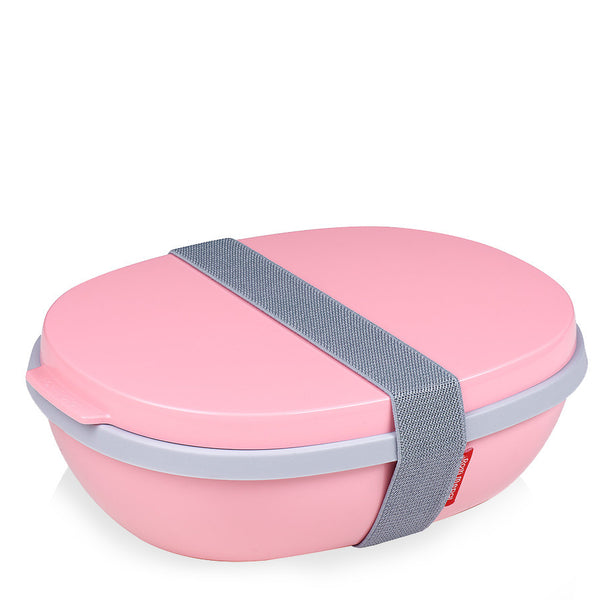 Lunchbox ELLIPSE DUO rosa Rosti Mepal