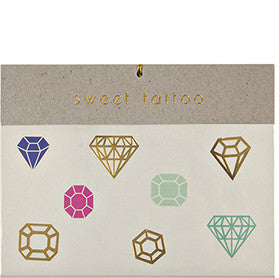 Tattoo-Set DIAMANTEN von Meri Meri