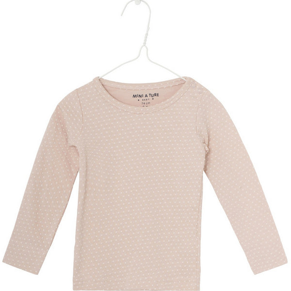 Langarmshirt EDDY rose dust, Mini A Ture