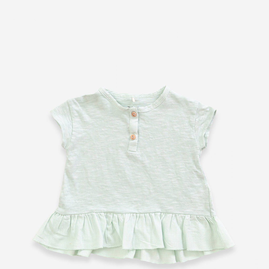 Rüschen-Shirt mint, Playup