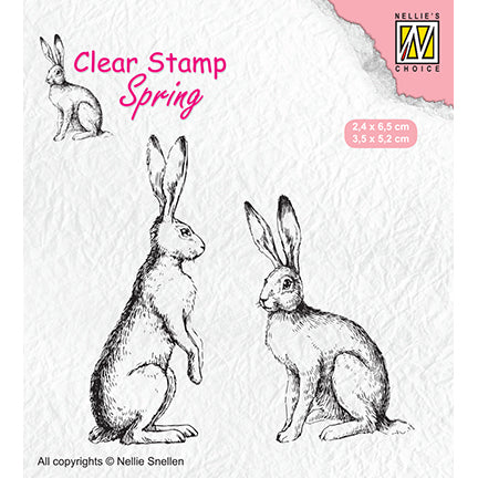 Clearstamps HASEN