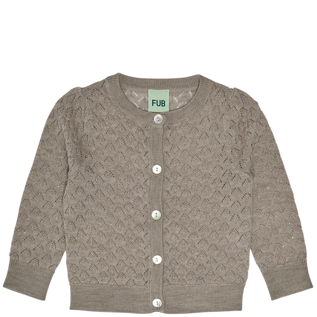 Baby-Strickjacke, Merinowolle, FUB Childrenswear