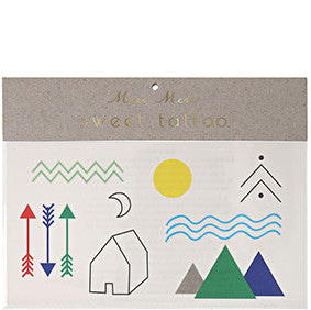Tattoo-Set CAMP von Meri Meri
