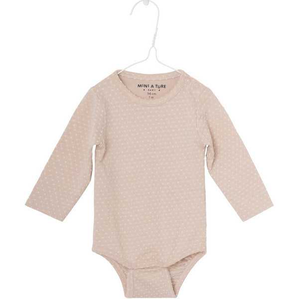 Langarmbody ELLIS rose dust, Mini A Ture