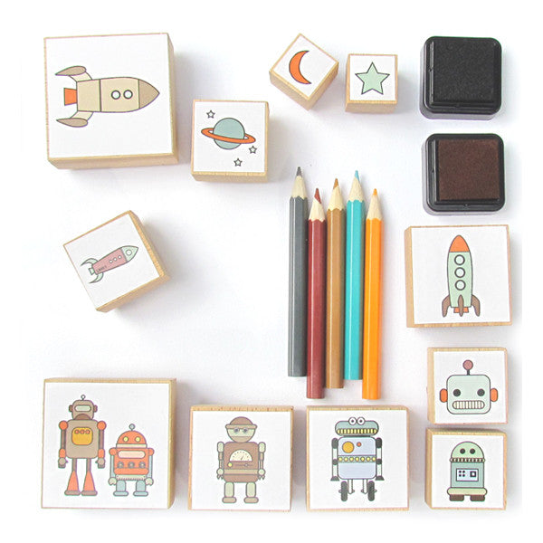 Stempel-Set SPACE