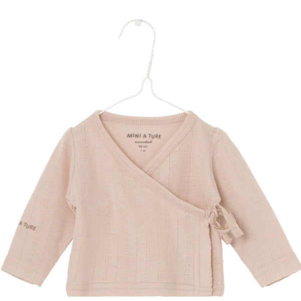 Wickeljacke rose dust, Mini A Ture