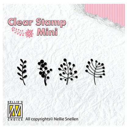 Clearstamps PFLANZEN 1