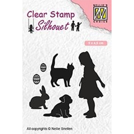 Clearstamps HAUSTIERE