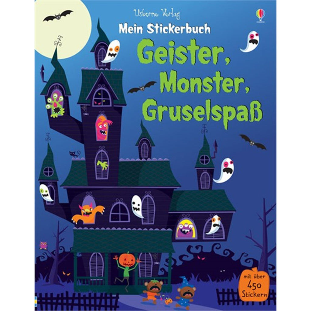Stickerbuch: GEISTER, MONSTER, GRUSELSPASS