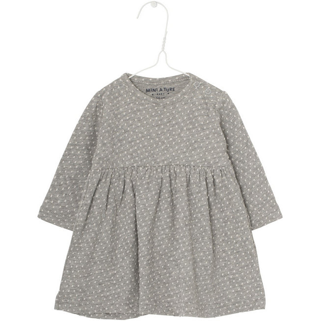 Kleid ELSE light grey melange, Mini A Ture