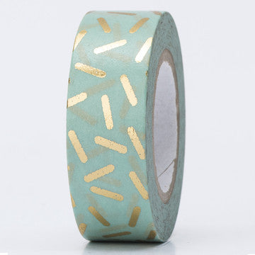 Glanz-Tape, mint/gold