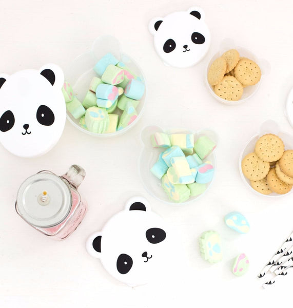 4 Lunch-Boxen PANDA