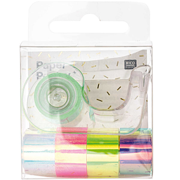 Mini-Glanztape-Set REGENBOGEN