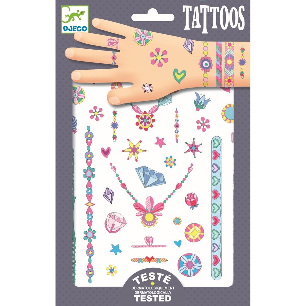 Tattoos SCHMUCK, Djeco