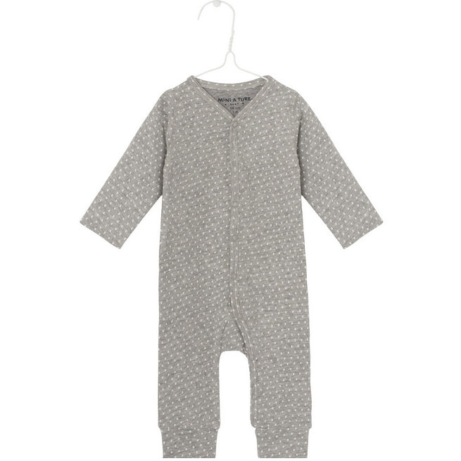 Overall MATTIE light grey melange, Mini A Ture