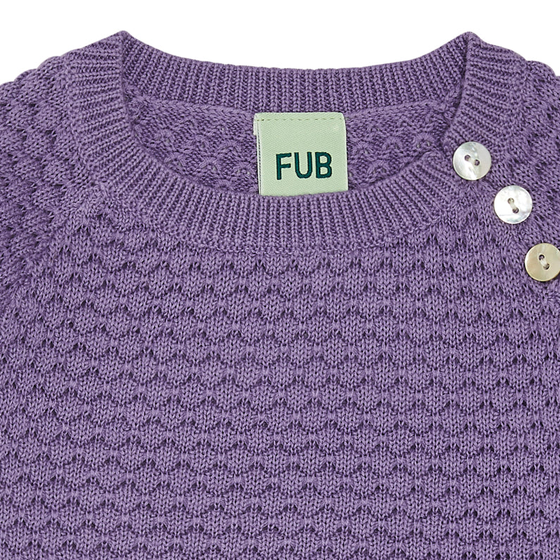 Bubble-Pullover, Organic Cotton, FUB Babywear