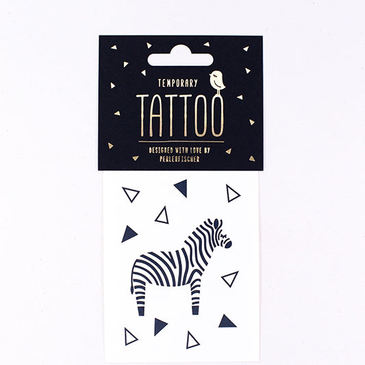 Tattoo-Set ZEBRA, Perlenfischer